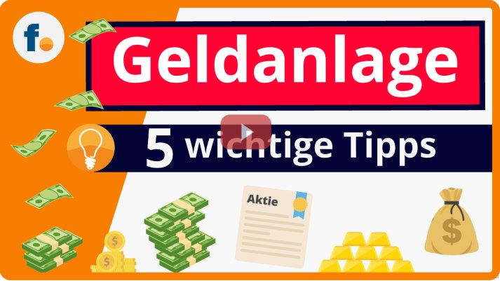 Video: 5 wichtige Geldanlage-Tipps