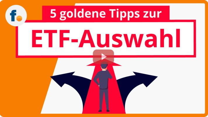 Video: ETF-Auswahl - ETF-Auswahl: 5 goldene Tipps zur ETF-Suche und zum ETF-Portfolio