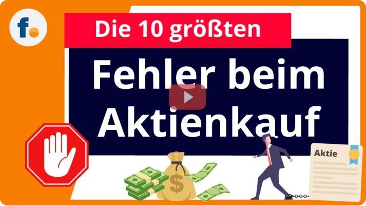 Video: Fehler beim Aktienkauf