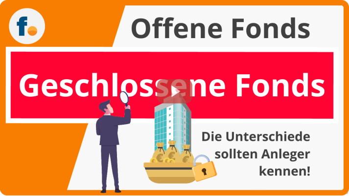 Video: Fonds kaufen - Unterschied von offenen und geschlossenen Fonds schnell erklärt