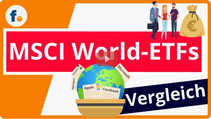MSCI World-ETFs im Vergleich